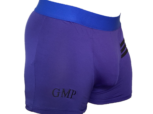 PRE PACKED Purple Athletic Boxer Briefs