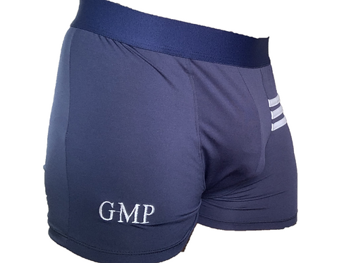 PRE PACKED Blue Athletic Boxer Briefs