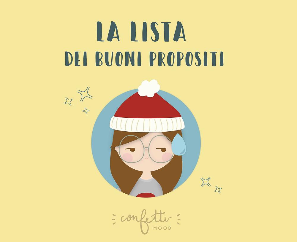 E Alla Fine Va Così - Buoni Propositi Anno Nuovo - www.ConfettiMood.com