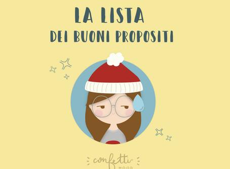 # E Alla Fine Va Così: Buoni Propositi per l'Anno Nuovo