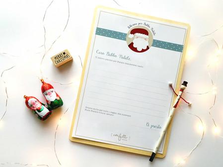 Twelve Days of Christmas – Giorno 3: Letterina per Babbo Natale
