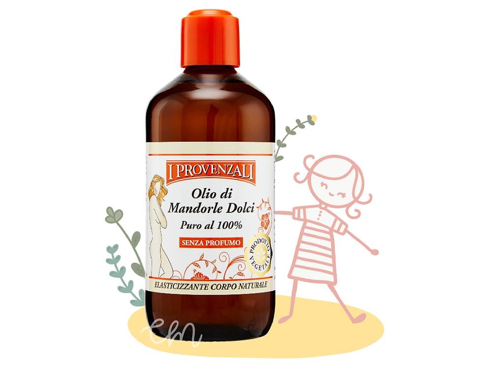 Olio di Mandorle dolci puro al 100% de I Provenzali