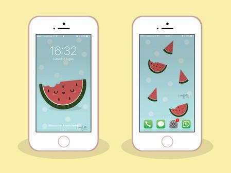 Sfondi di Luglio per iPhone e Computer