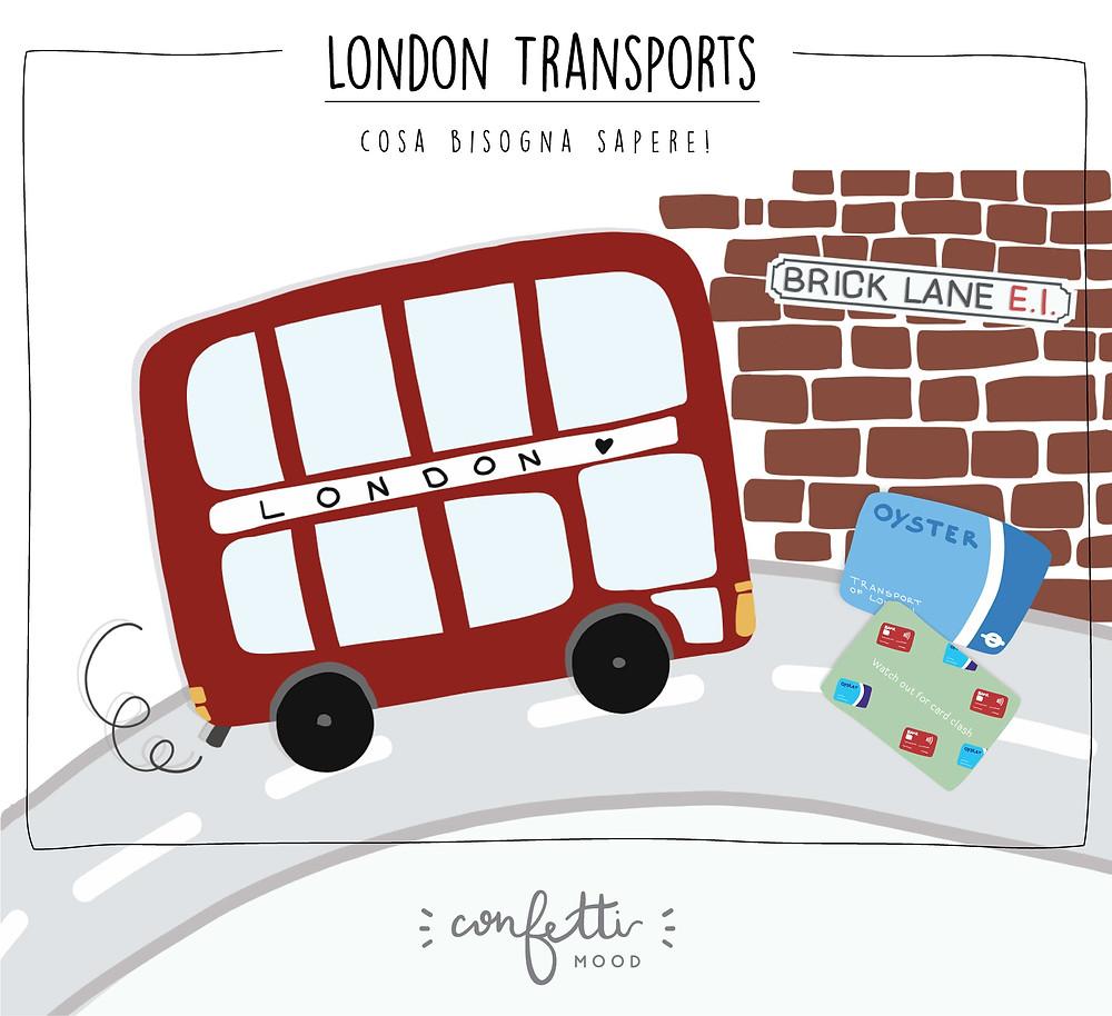 London Calls - Oyster Trasporti Pubblici - www.ConfettiMood.com