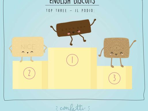 Tea Time: i 3 migliori biscotti inglesi per il tè