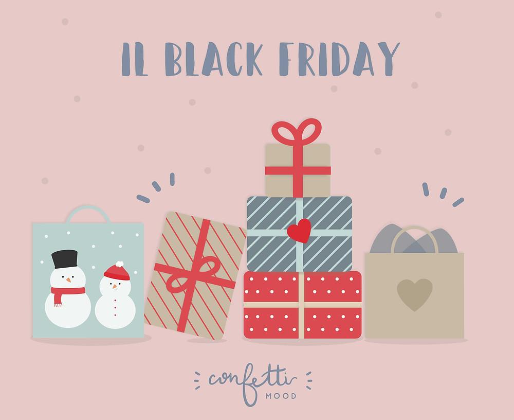 E Alla Fine Va Così - Black Friday  - Cover - www.ConfettiMood.com