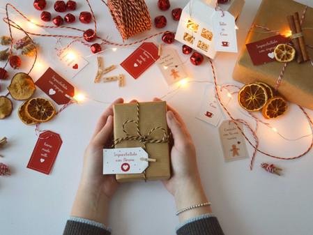 Twelve Days of Christmas – Giorno 7: Tag per Regali Homemade