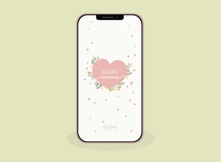 Sfondo per cellulare per la Festa della Mamma