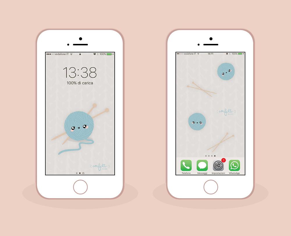 Freebies - Sfondo iPhone Novembre - ConfettiMood.com