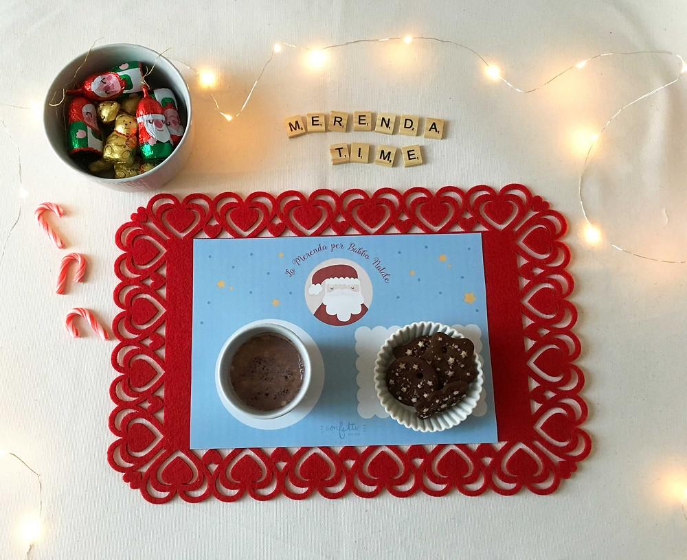 Twelve Days of Christmas - Freebies -Tovaglietta per la Merenda - www.ConfettiMood.com