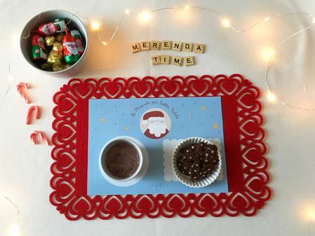 Twelve Days of Christmas - Giorno 11: Tovaglietta per la Merenda di Babbo Natale