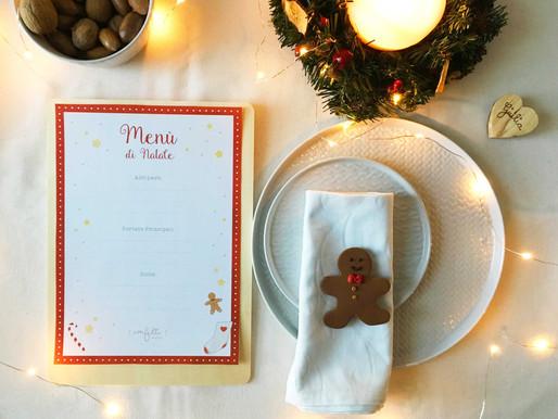Twelve Days of Christmas – Giorno 9: Menù di Natale