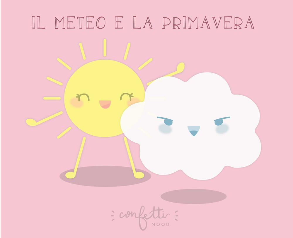 Meteo e Primavera - Confetti Mood - www.ConfettiMood.com
