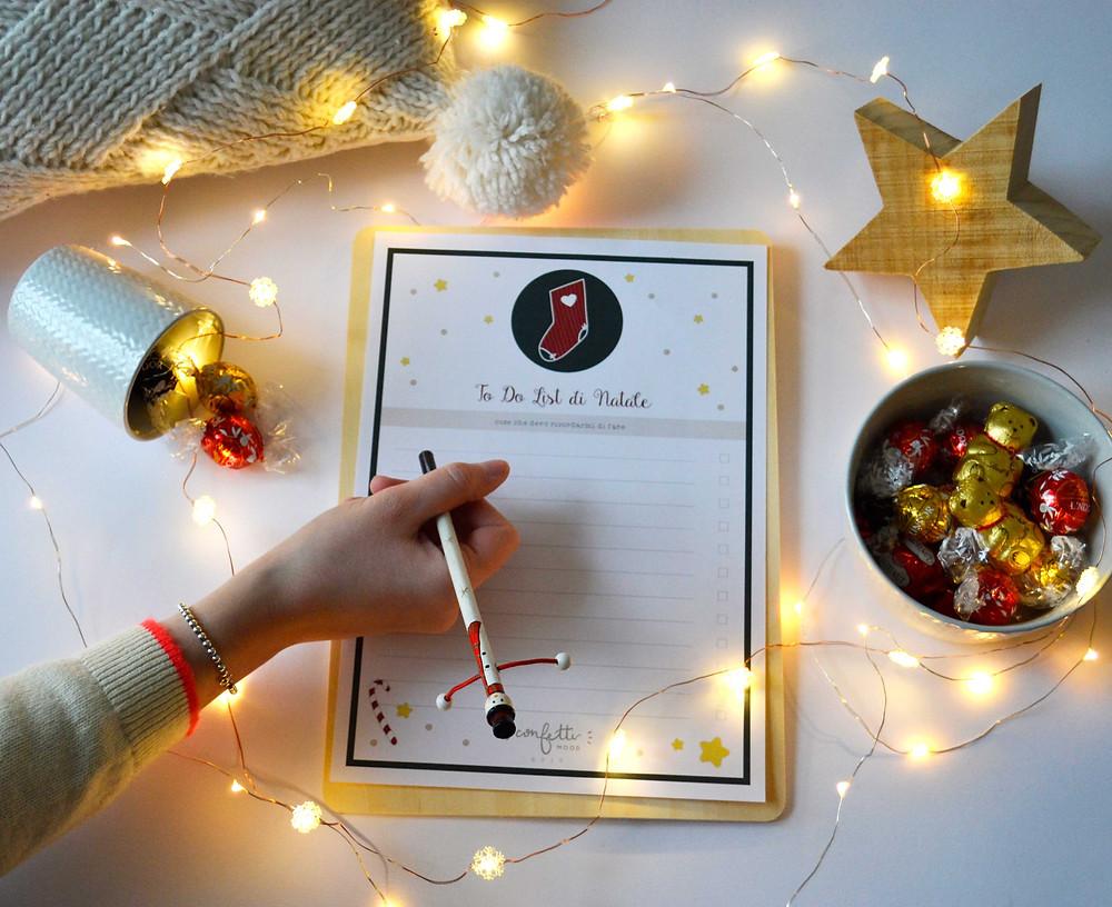 Twelve Days of Christmas - Freebies -To Do List - www.ConfettiMood.com