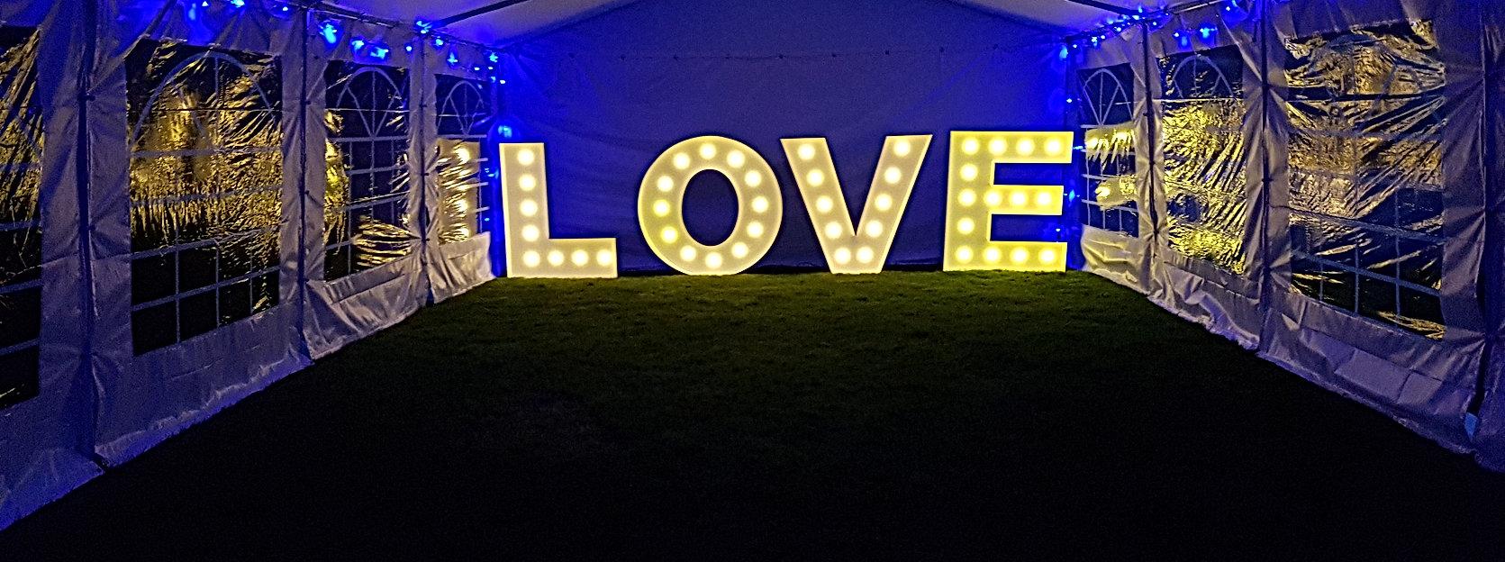 Love lights hire