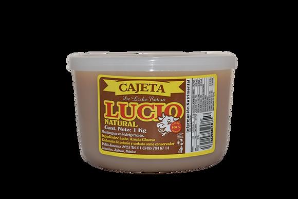 Cajeta Artesanal Gourmet Natural 1 kilo.