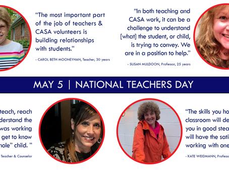 CASA is grateful for all teachers!