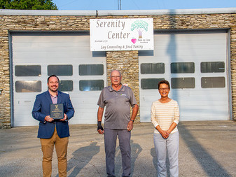 CASA honors Shelby County's Serenity Center  for 9 Years of Partnership