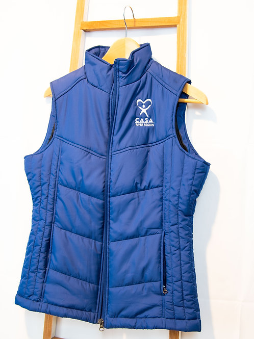 Ladies Quilted Puffy Vest