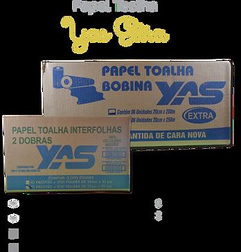 Papel Toalha Yas Extra