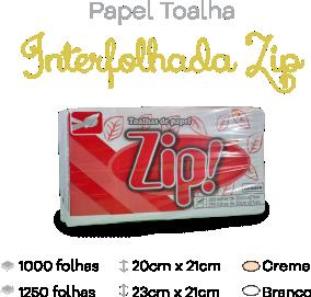 Papel Toalha Interfolhada Zip
