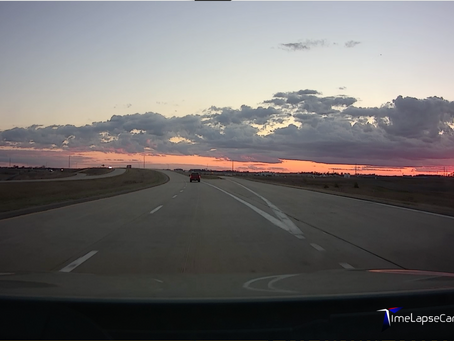 Extreme weather Video Lapse Drive to Iowa