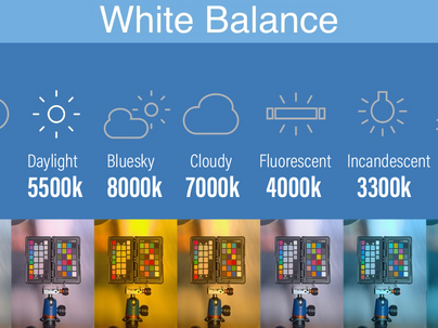 What? White Balance. It's a feature within the Afidus App.