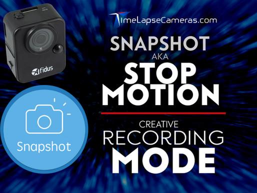 Snap Shot aka. STOP MOTION, a creative recording mode