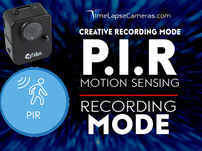 A Motion Sensing Camera? PIR recording Mode, Afidus Time Lapse Camera