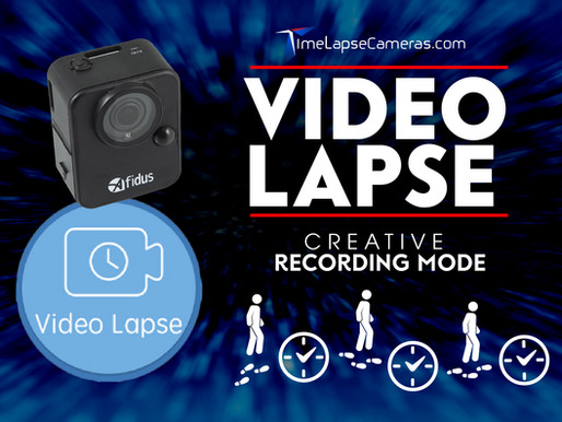 Video Lapse, creative Recording mode