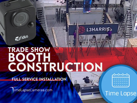 Trade Show Booth Set-up, Full Service Installation