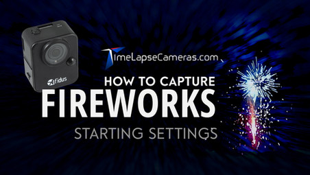 How to capture Fireworks