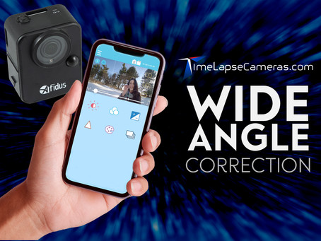 Wide Angle, Afidus Time-Lapse Camera app feature