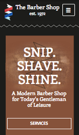 See All Templates website templates – The Barber