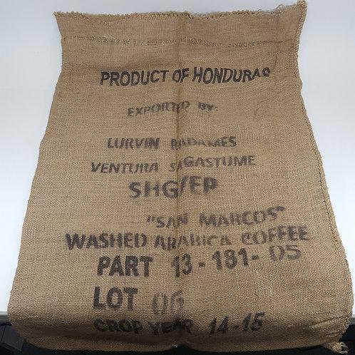 """Product of Honduras"" Coffee Burlap Sack"