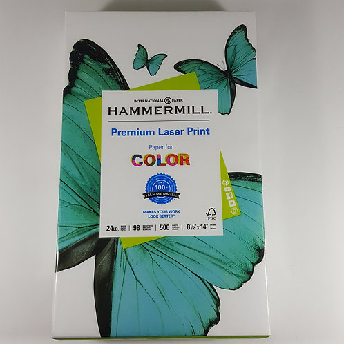 Hammermill Premium Laser Print Legal Size Paper