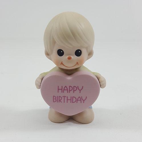 Happy Birthday Figurine - Boy