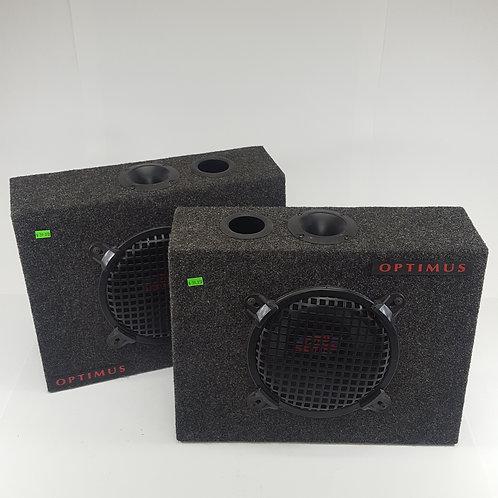 """Optimus 10"""" Pro Series Speakers With Optimus Boxes"""