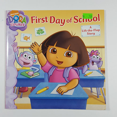 Dora First Day of School