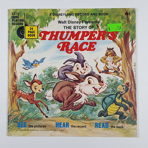 Walt Disney The Story of Thumper's Race