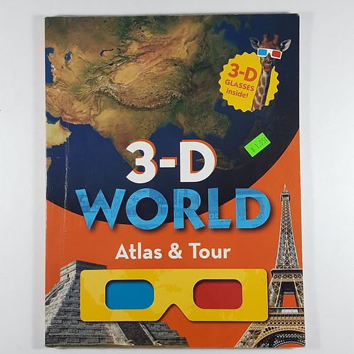 3-D World Atlas & Tour