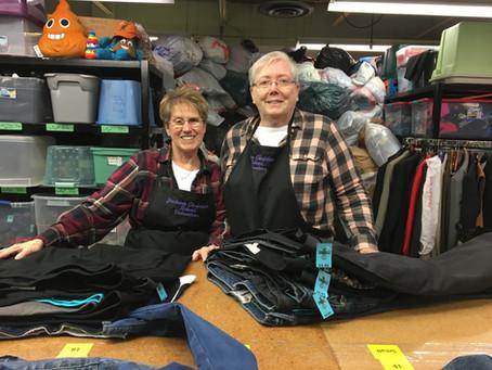 Sue & Linda - May 2020 Volunteer Highlight