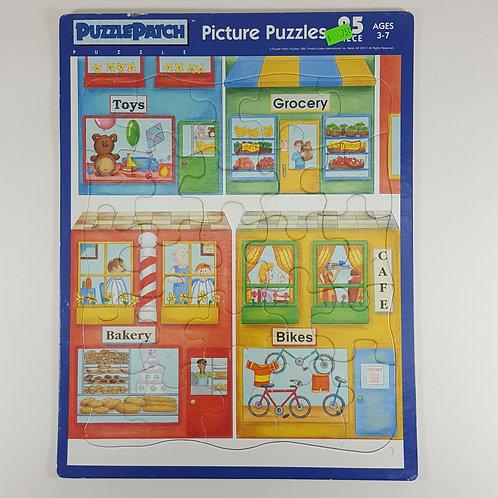 Puzzle Patch Board Puzzle - Shops