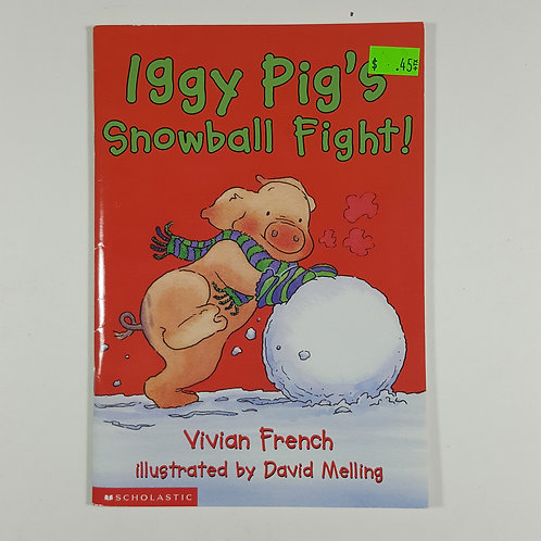 Iggy Pig's Snow Ball Fight