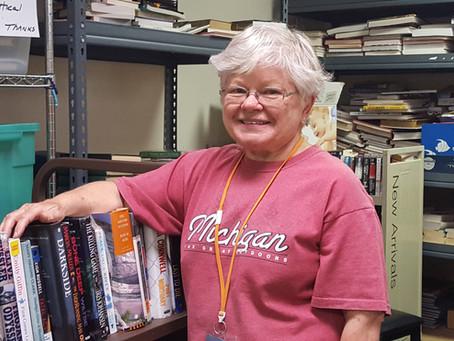 Mary Frey - July 2019 Volunteer Highlight