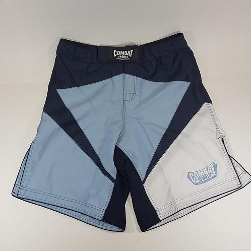 2-Tone Blue MMA Combat Shorts
