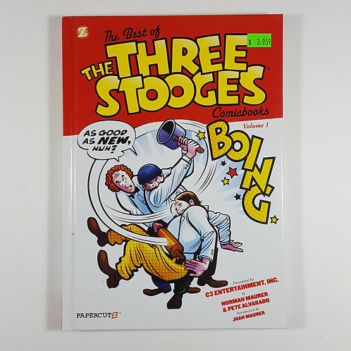 The Best of The Three Stooges Comic Books