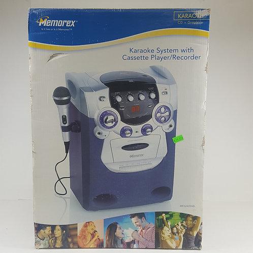 Memorex CD/Cassette Karaoke Machine