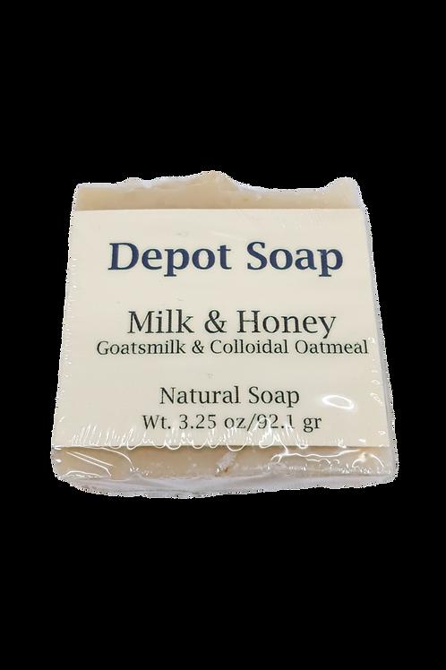 Natural Soap - Milk & Honey