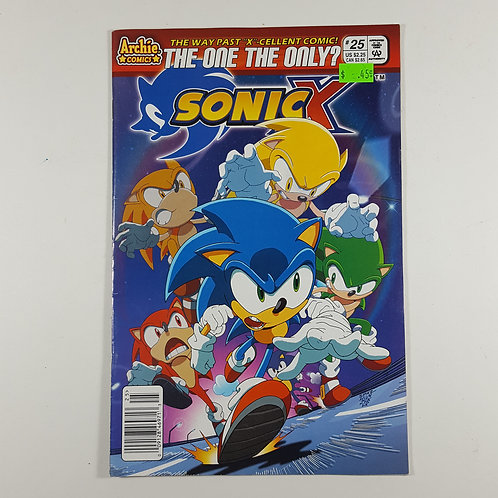 Sonic X The One and Only?